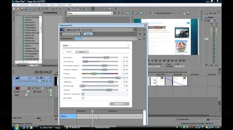sony vegas pro tutorial german sony vegas pro 11 grundlagen tutorial german youtube