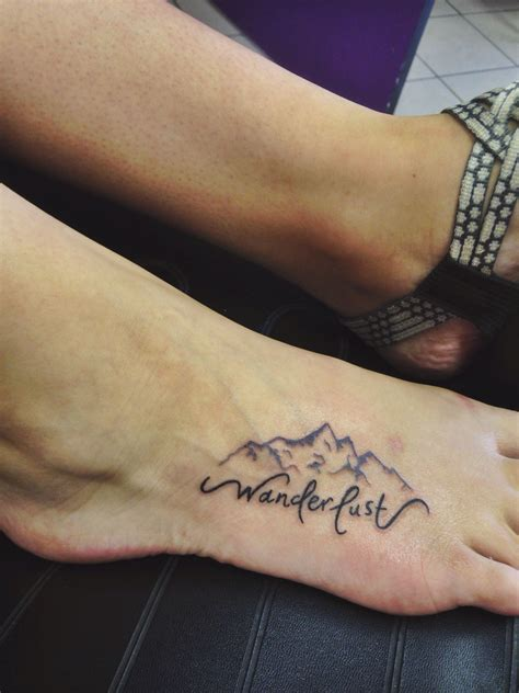 beautiful foot tattoos my wanderlust foot wanderlust foot