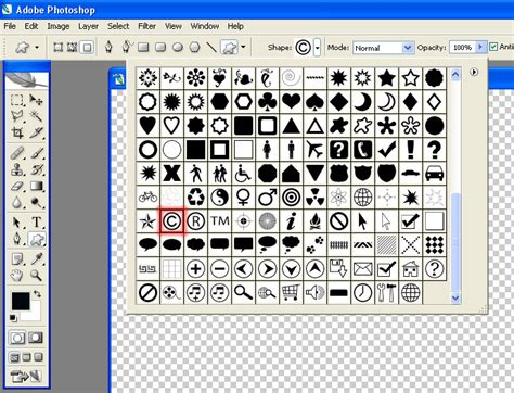 insert pattern in photoshop creating copyright symbols with photoshop tutorials
