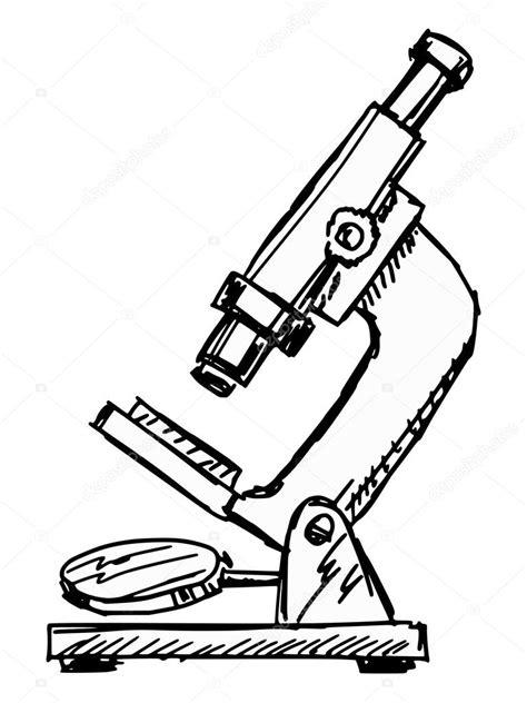 imagenes de un microscopio para dibujar faciles microscope stock vector 169 perysty 52023865
