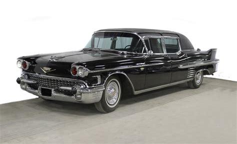 cadillac fleetwood limousine 1958 cadillac series 75 fleetwood limousine imperial sedan