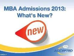 Whats After Mba by Free Webinar Get The 2013 Mba Admissions Scoop