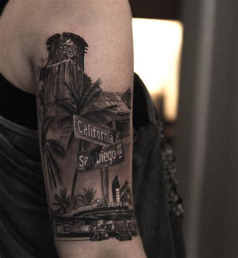 sunset strip tattoo hob los angeles on cali and 3d tattoos