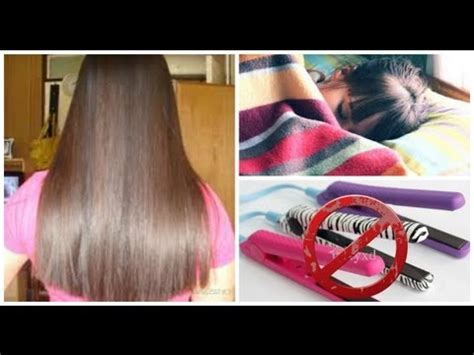 hairstyles to keep hair straight overnight howto keep hair straight overnight youtube