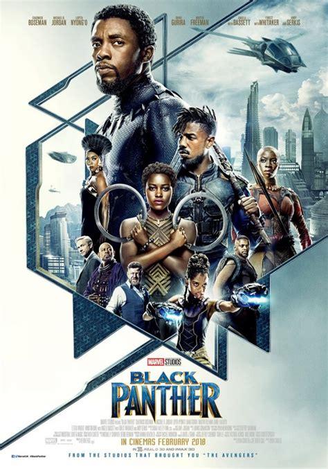 film marvel en francais la nouvelle affiche officielle de black panther d 233 voil 233 e