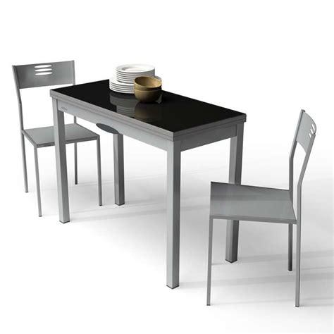 table de cuisine extensible en verre et m 233 lamin 233 delibro