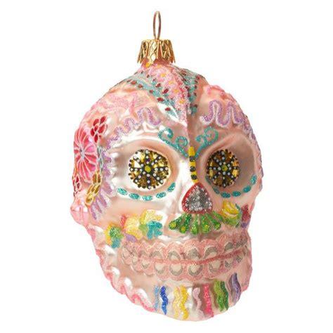 sugar skull ornament d 237 a de los muertos pinterest