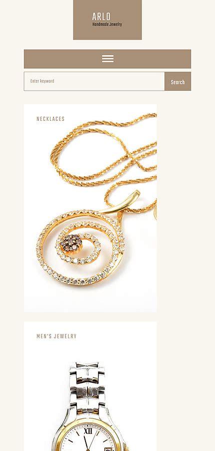 Arlo Handmade Jewelry Artist Portfolio Wordpress Website Templates Handcrafted Jewelry Website Templates