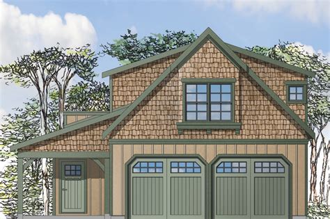 Garage House Plans With Apartment Above by Craftsman House Plans Garage W Apartment 20 119