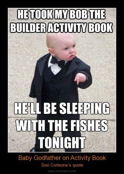 Baby Godfather Memes - the gallery for gt baby godfather meme