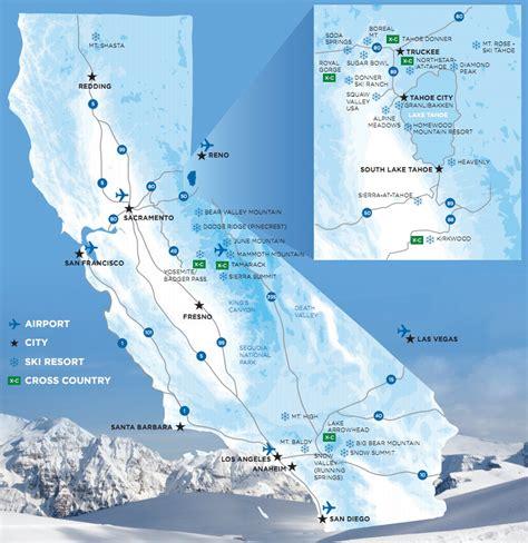 ski resorts in usa map opening dates for california ski resorts 2013 14 snowbrains