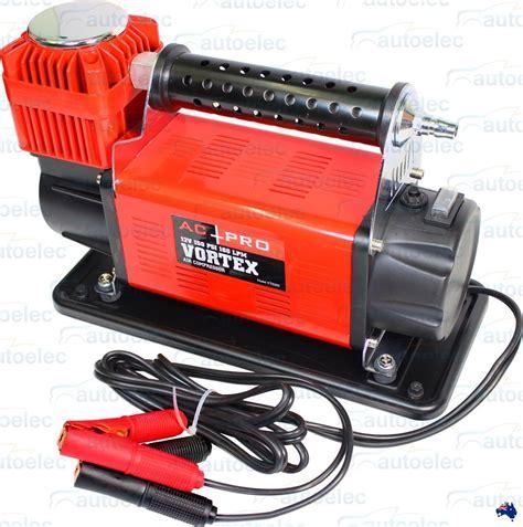 ac pro vortex by projecta 12 volt 12v air compressor