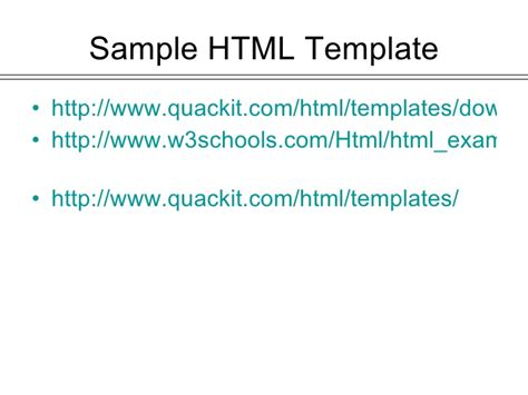 html tutorial quackit how to create personal web pages on my web
