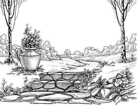 dibujos de piedra dura el dibujante 2 0 apexwallpapers com fotomural escaleras de piedra en el parque dibujo a l 225 piz