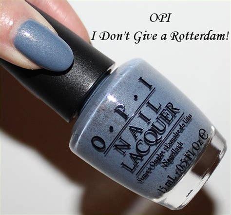 Opi I Don T Give A Rotterdam Nlh57 opi i don t give a rotterdam swatches review swatch and learn