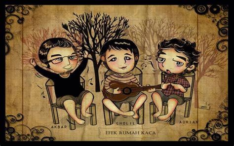 doodle nama akbar band efek rumah kaca gratiskan semua albumnya putra sawitto