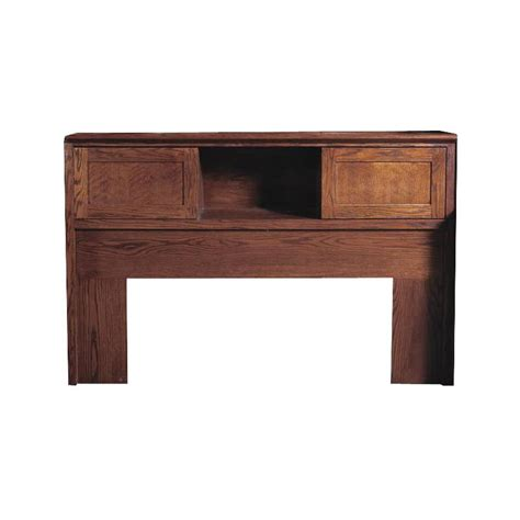 oak bookcase headboard fd 3011m mission oak bookcase headboard full size