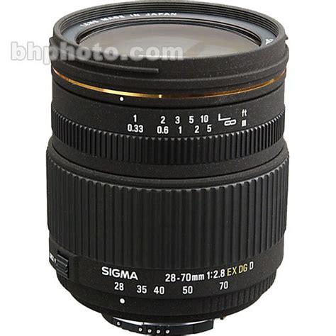 Sigma 70mm F 2 8 Ex Dg Af Macro sigma 28 70mm f 2 8 ex dg autofocus lens for nikon af 549306 b h