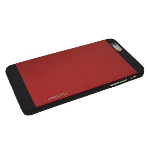Motomo Hardcase Iphone4 rood motomo aluminium hardcase iphone 6 plus qualitycases