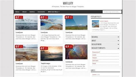 blogger themes 2015 minimalist mxfluity blogger template btemplates