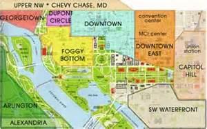 washington dc map quadrants dchotels