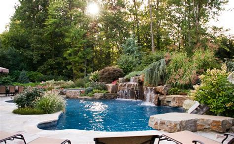pool garden ideas 15 pool landscape design ideas home design lover