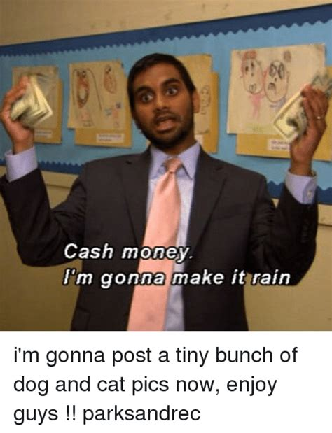 Make It Rain Meme - cash money m gonna make it rain i m gonna post a tiny