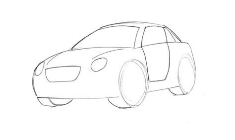 cartoon car drawing learn how to draw a cartoon car easy junior car designer