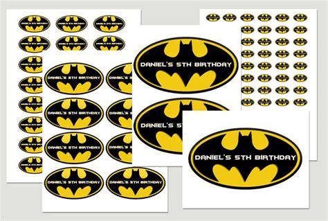printable batman logo stickers stickers logos and batman birthday on pinterest