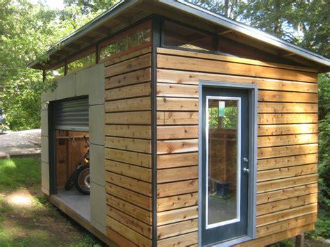 diy modern shed project modern backyard  gardens