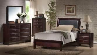 emily bedroom set emily sleigh bedroom set rich espresso finish em200tb