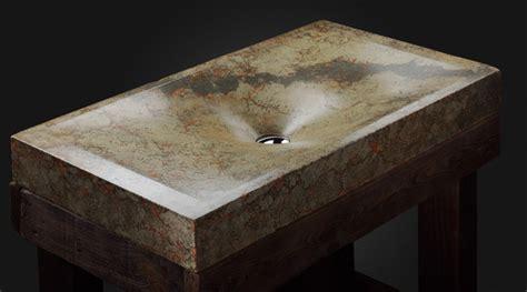 les lavabos en b233ton contemporains de pietra danzare