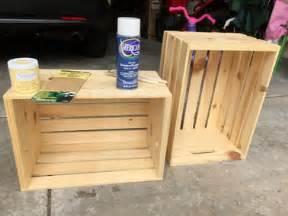 Nice Peindre Une Table De Chevet En Bois #12: Caisses-en-bois-pour-fabriquer-un-meuble-de-rangement.jpg