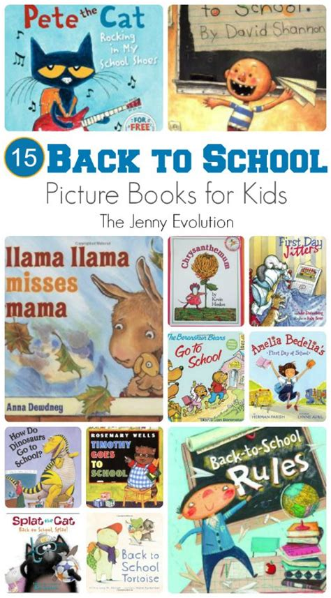 back to school picture books back to school picture books for the evolution