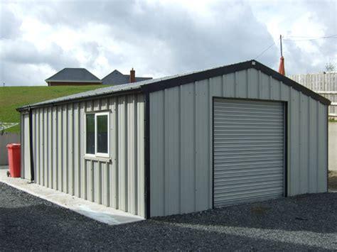 insulated steel garage apco garden design