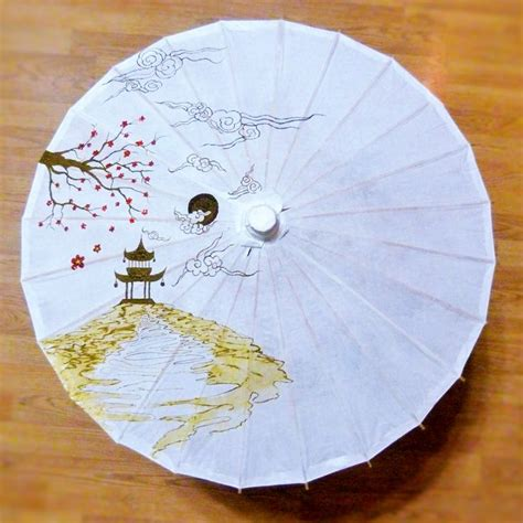Paper Umbrella Tattoo | i chose a parasol as my model this round because it