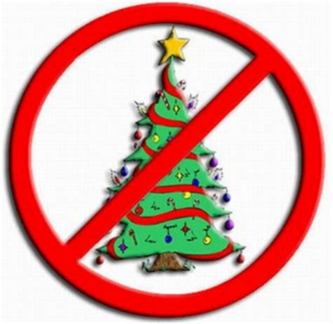 texas school bans christmas trees as well as the colors