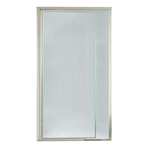Pebbled Glass Shower Door Pebbled Shower Doors Showers Bath The Home Depot