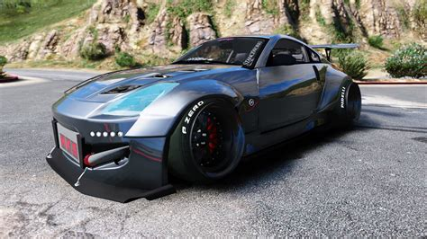 nissan 300zx rocket bunny nissan 350z rocket bunny kit stanced add on gta5 mods com