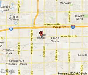 tolleson arizona map tolleson hotels tolleson hotel motel travel guide
