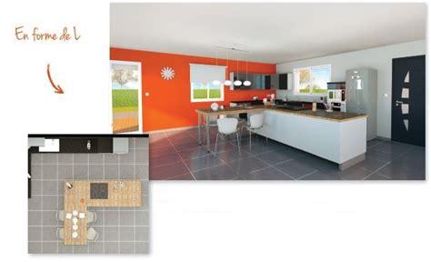 cuisine en forme de l les tendances cuisine un 238 lot dans la maison habitat