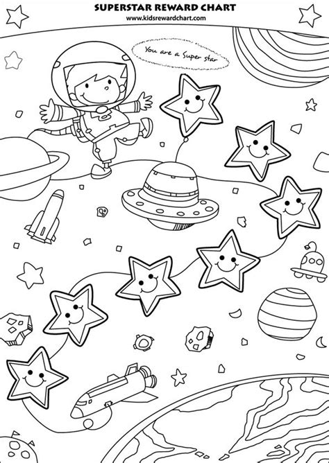 printable reward charts to colour in free printable superstar rreward chart for boys