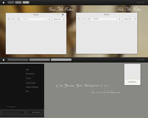 xgreen theme for windows 8 1 download 50 best windows 8 1 themes geeks gyaan