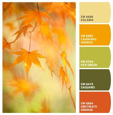 fall paint colors inspired by nature design