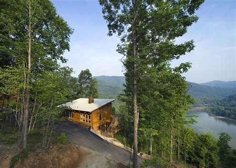 Small Lake Home Plans the view single pitch roof cabin fever pinterest