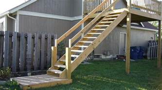 central kansas home amp building repair exterior deck stair rails