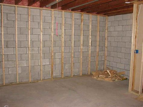 how to repair how to frame walls for basement wall cost