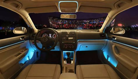 Lu Led Untuk Interior Mobil lu interior mobil led neon rgb 3 meter with 12v