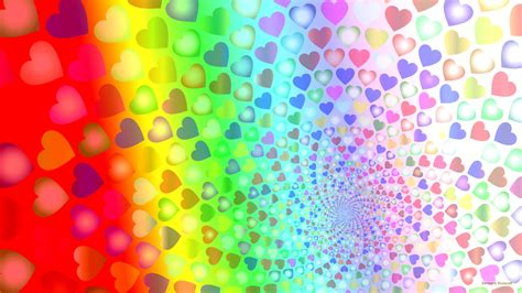 wallpaper of colorful hearts hearts wallpapers barbaras hd wallpapers