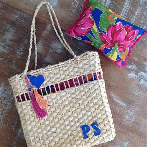 Sao Harajuku Styleja Sao 20 bolsas de palha personalizadas j 225 tem a sua not 237 cias sobre jeito de ser moda beleza